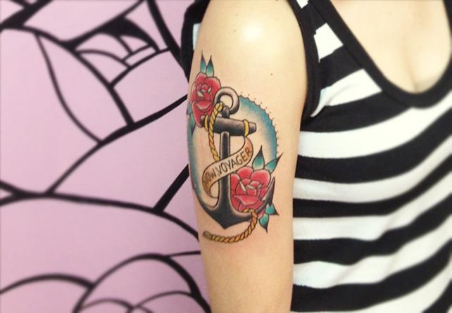 Tattoo finalizada com sucesso. Há!