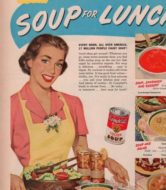 pink 1954 advertise